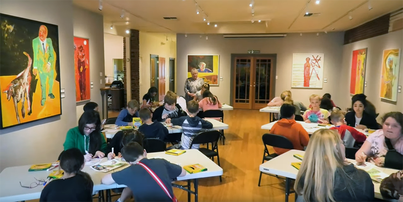 Field Trips at the Grants Pass Museum of Art